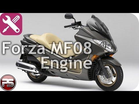 Honda Forza MF08: как устроен мотор