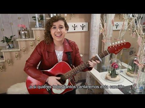 """VÍDEO: La cantautora lucentina Mirey Decrís interpreta """"Quédate en casa"""". Te va a gustar."""