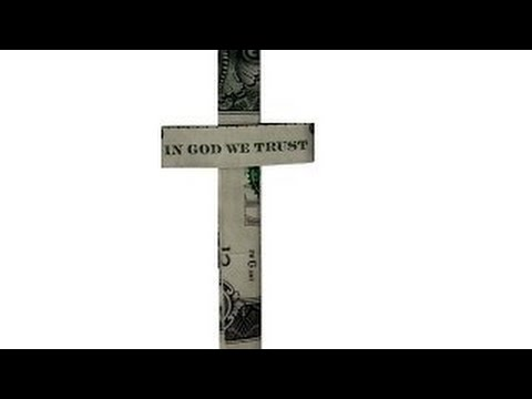 Dollar Origami Cross (Slow Tutorial) - How To Make A Dollar Origami Cross