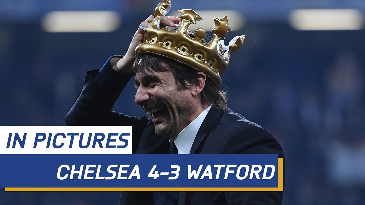 Chelsea Vs Watford: MATCH IN PICTURES: Chelsea V Watford