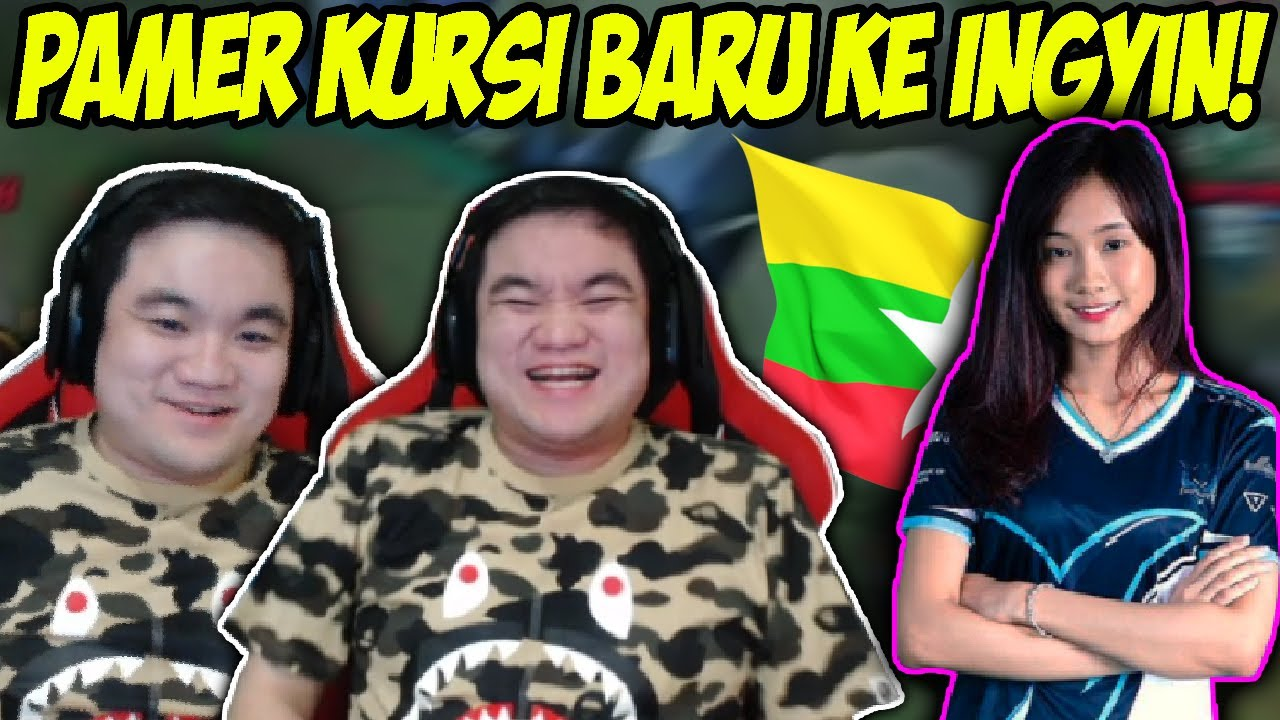 Donkey Beli Kursi Gaming Baru Pamerin Ke Ingyin Haha Donkey Bar Bar Youtube