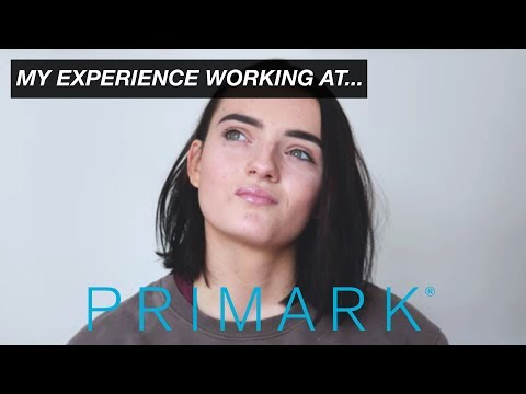 My Experience Working At Primark ↕ STORYTIME