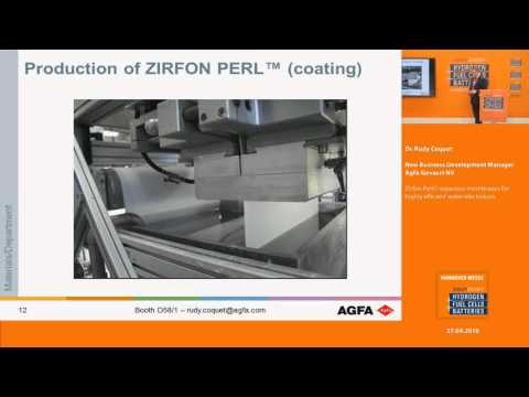 Zirfon Perl© separator membranes for highly efficient water electrolysis