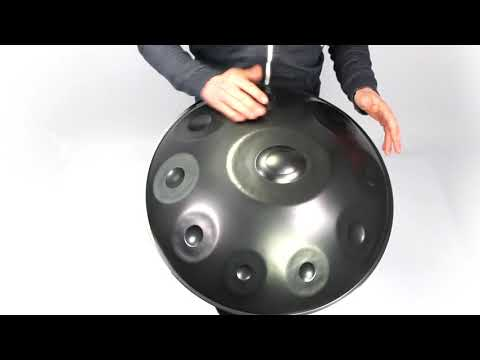 Ayasa Deepdrawn Handpan / Pantam shells | Batch #6 material demonstration