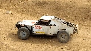 RC ADVENTURES - SPECiAL! Dan from OBR - 9.7hp Widowmaker Gas Engine in Losi 5T (4x4)