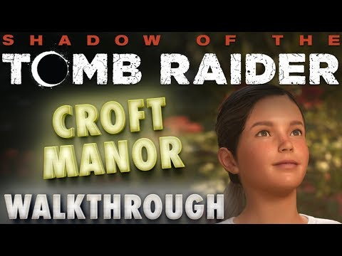 Shadow of the Tomb Raider: White Queen Puzzle - Croft Manor \