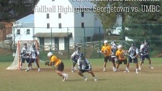 Fallball Highlights: Capital Invitational - UMBC V Georgetown