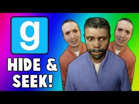 Gmod Hide and Seek Funny Moments - Swimming Glitch, Tree Formation, Ninja Vanish (Garry's Mod)