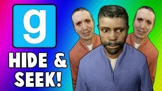 Gmod Hide and Seek Funny Moments - Swimming Glitch, Tree Formation, Ninja Vanish (Garry