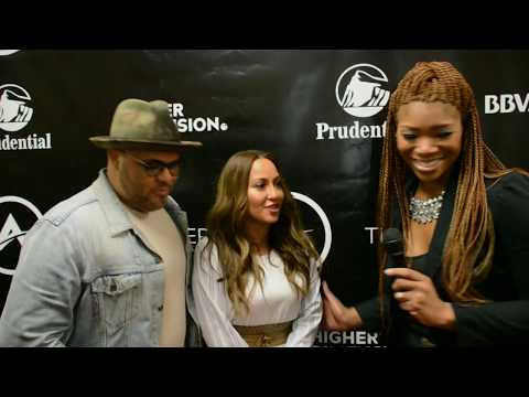 ADRIENNE BAILON x ISRAEL HOUGHTON Interview