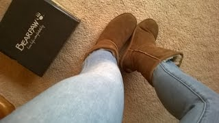 Half price UGGS - Bearpaw Boots Unboxing + Try On (Emma Short)