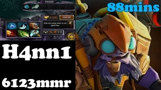 Dota 2 - H4nn1 plays Tinker 88minutes - Ranked Match !