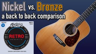 You Need To Try Nickel Acoustic Strings!   Martin Monel Retro