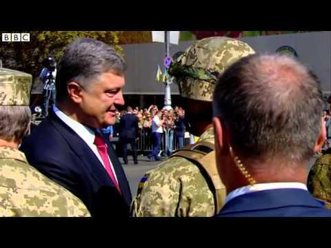 Ukraine's Poroshenko  'New Russia' is like 'Mordor'   BBC News