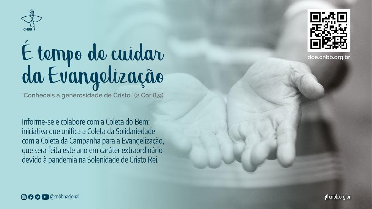 CNBB: Campanha É Tempo de Cuidar da Evangelização