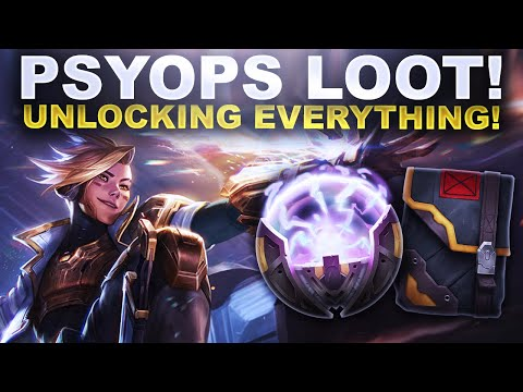 PSYOPS 2020 LOOT IS HERE! UNLOCKING EVERYTHING!   League of Legends