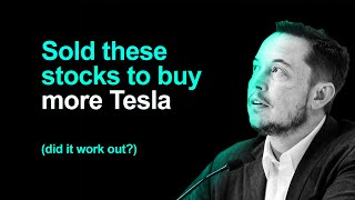 I Sold These 15 Stocks To Buy More Tesla (insane?)