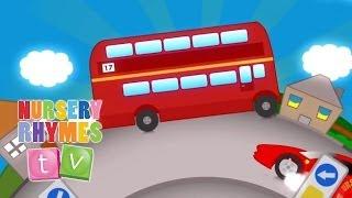 BIG RED BUS | New Nursery Rhymes | English Songs For Kids | Nursery Rhymes TV