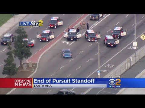 Standoff In Santa Ana