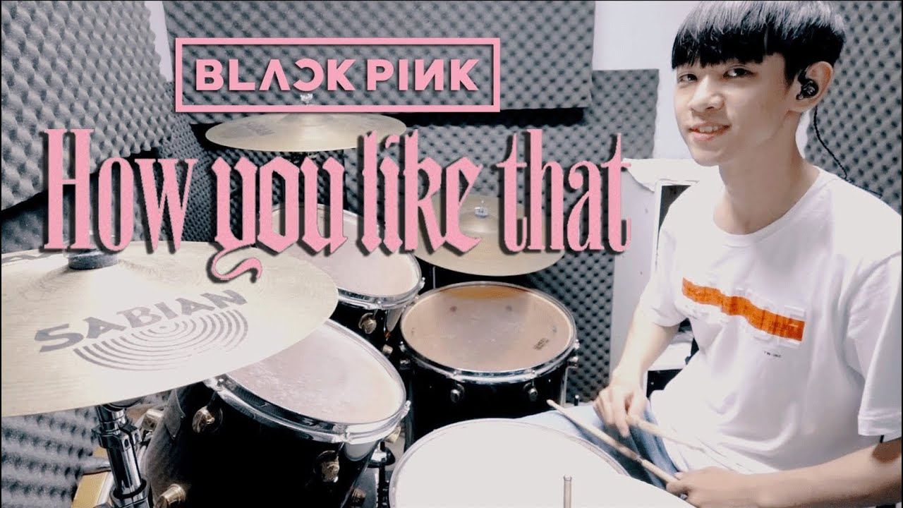 BLACKPINK (블랙핑크) -【 How You Like That 】DRUM COVER BY 李科穎KE 爵士鼓
