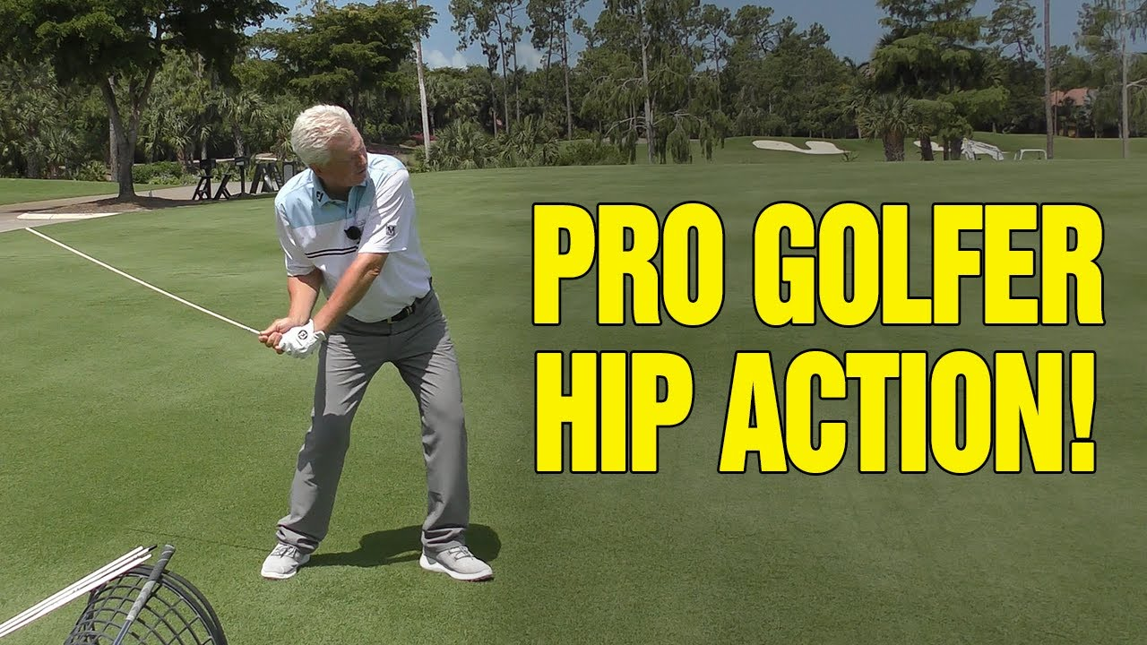 How to Use the Hips in the Golf Swing (PRO GOLFER HIP ACTION)!!