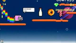 Nyan Cat gameplay simblog.pl
