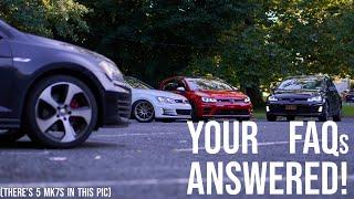 VW MK7/MQB 101 - FAQs of the VW MK7 GTI/R