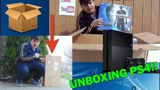 UNBOXING PLAY STATION 4/Empiezan los gameplays!/ Yo I Sanabria