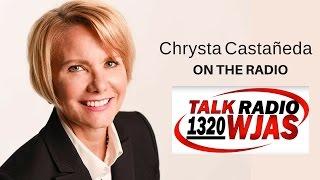 LIVE on the radio in Pittsburgh | Chrysta Castañeda