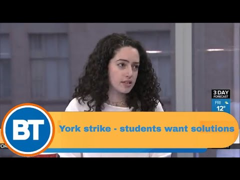 York University Strike - students want solutions