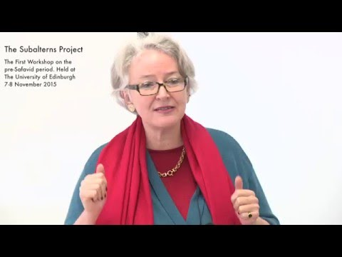 Dr Christine van Rumbeke - The naughty female, in Kashefi's version of the Kalila-Dimna