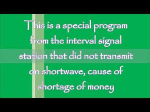 Interval signal station - special with a lot of interval sig