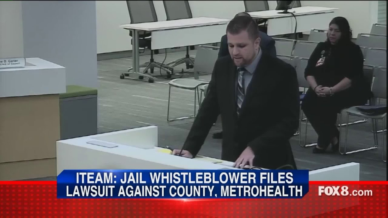 I-Team: Cuyahoga County Jail whistleblower files lawsuit against county