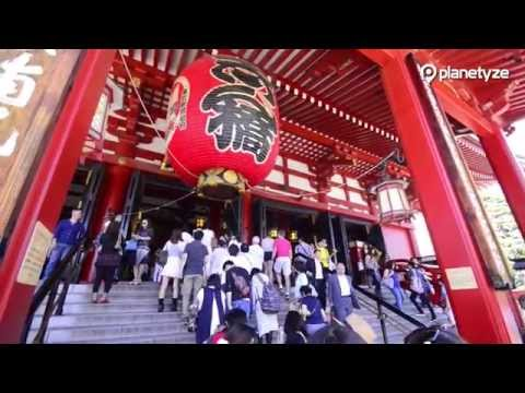 Asakusa, Tokyo - Exploring Shitamachi, shopping streets and temple | One Minute Japan Travel Guide