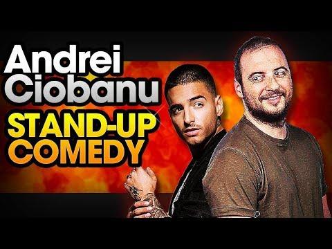 Andrei Ciobanu - Despre Maluma și Radu (stand-up comedy @Club 99)