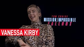 Vanessa Kirby can't stop talking about The Crown during Mission Impossible interview