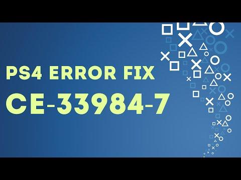PS4 EASY FIX Error CE-33984-7 Cannot obtain an IP address