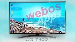 Webos Test - LG UM7600 Smart TV