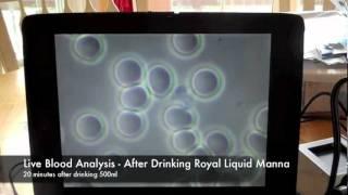 Liquid Manna Live Blood Analysis Oxygen Water