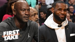 LeBron would be a better NBA team owner than Michael Jordan - Max Kellerman | First Take