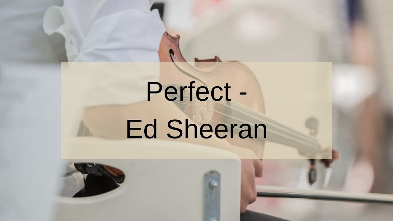 Perfect   Ed Sheeran   Duo