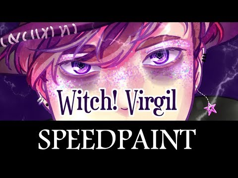 Sanders Sides Speedpaint - Witch Virgil/Anxiety