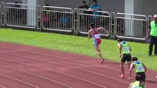 1051022全國田徑錦標賽男子組 400公尺跨欄    花蓮縣第八名    黃庭軒