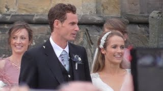 Andy Murray & Kim Sears Wedding at Dunblane Cathedral