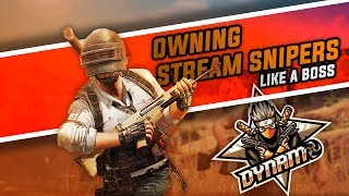 PUBG MOBILE PAN FIGHT WITH DYNAMO GAMING | DYNAMO VS STREAM SNIPERS