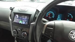 Holden Colorado & Isuzu DMAX Stereo Upgrade 2012 - 2016 Models