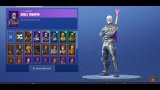 TRADING/SELLING *INSANE* SKULL TROOPER AND GHOUL TROOPER FORTNITE ACCOUNT