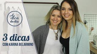 3 DICAS DE COSTURA COM KARINA BELARMINO (E UM CASAQUINHO CHIQUE POR R$ 18,00)