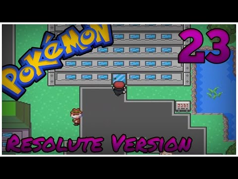 Pokémon Resolute Version - Episode 23 : Sylon Academy l Let's Play Français