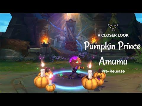 Pumpkin Prince Amumu Epic Skin (Pre-Release)